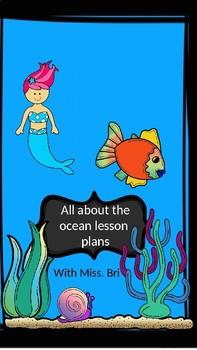 Under the sea lesson plans