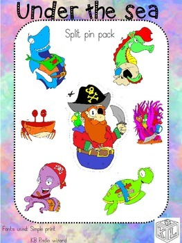 Under the sea split pin pack