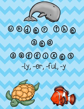Under the Sea Suffixes