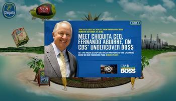 Undercover Boss- Chiquita Bananas Edition, Horticulture