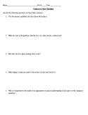 Undercover Boss Questions Business (for any episode) Handout