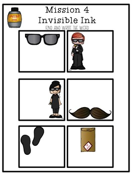 Undercover Word Spies: A Sight Word Review Resource!