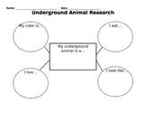 Underground Animal Research Organizer
