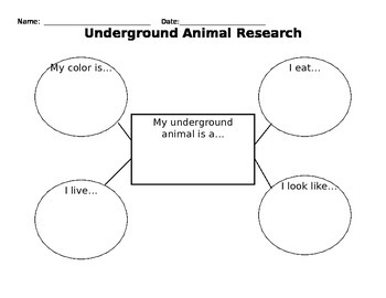 Underground Animal Research Organizer