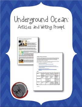 Underground Oceans: Articles & Writing Prompt