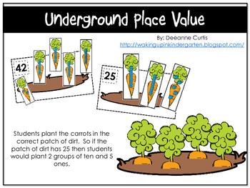 Underground Place Value