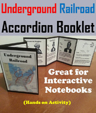 Black History Month Unit: The Underground Railroad Activity/ Slavery Foldable