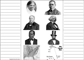 Underground Railroad Interactive Notebook/ Slavery: Black History Month Unit