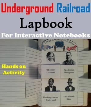 Underground Railroad Interactive Notebook/ Slavery: Black