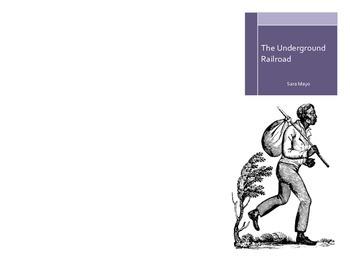 Underground Railroad Brochure