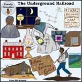 Underground Railroad Clip Art
