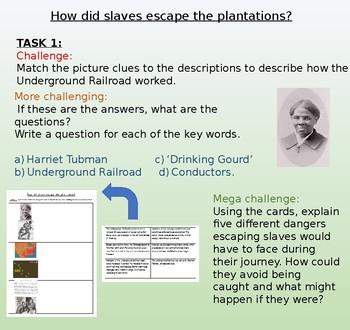 Underground Railroad / Harriet Tubman