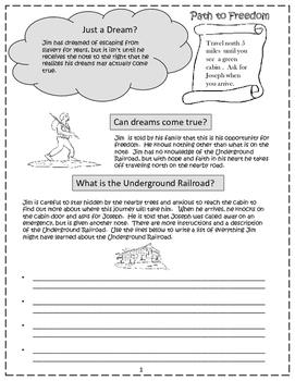 Underground Railroad - Informative Writing