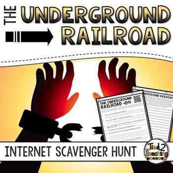 Underground Railroad: Internet Scavenger Hunt