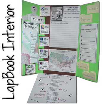 Underground Railroad Lapbook (Black History Month)
