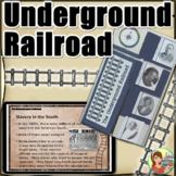 Underground Railroad Lapbook (Black History Month)