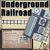 Underground Railroad Lapbook - Black History Month