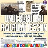Underground Railroad Lesson