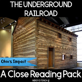The Underground Railroad in Ohio - Literacy and History Activities
