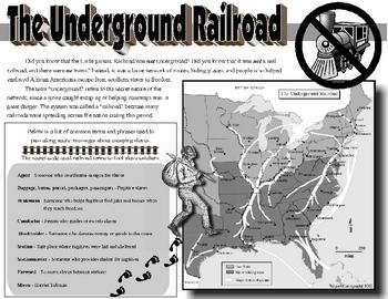 Underground Railroad Placemat