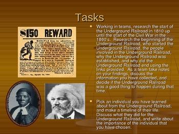 Underground Railroad Powerpoint Lesson