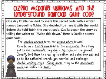 Underground Railroad Quilt Codes Nonfiction Stories & The Patchwork Path