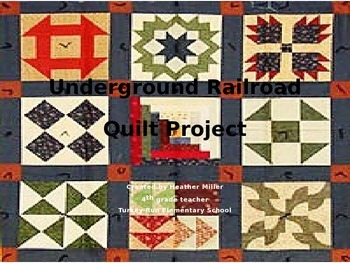 Underground Railroad Quilt Project - Indiana History