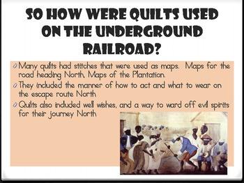 Underground Railroad: Quilt Squares
