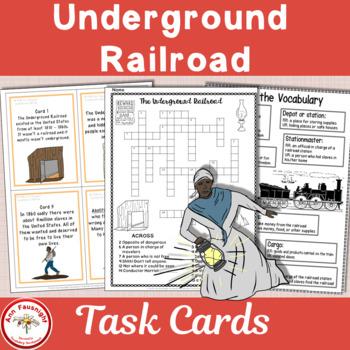 Underground Railroad Scavenger Hunt