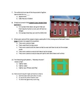 Underground Railroad Test