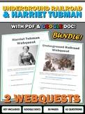 Underground Railroad and Harriet Tubman - Webquest with Ke