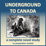 Underground to Canada - adaptable for distance learning