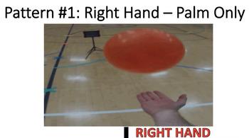 Underhand Striking Hand Patterns