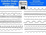 Underline Singles {Divider Lines}