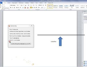 Teacher Tools - Underliner Software