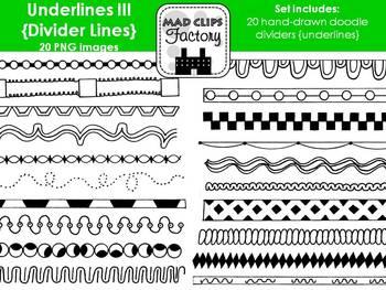 Underlines III {Divider Lines}