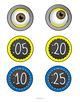 Underling Clock Labels: For Your Minion Themed Classroom!