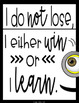 Underling Quote Posters: For Your Minion Themed Classroom!
