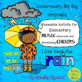 Underneath My Big Umbrella SAMPLER: Ensemble Experience for Young Musicians