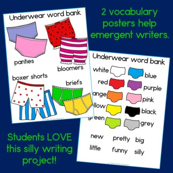 Underpants Class Book with Sight Words