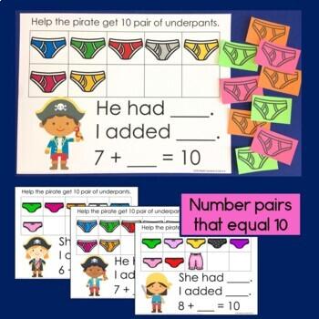 Underpants Math