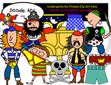 Underpants for Pirates Clipart Pack