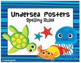 Undersea Spelling Rule Posters