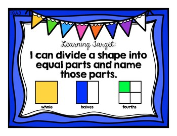 Understand Breaking Shapes Into Parts {Common Core Math Resources}