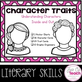 Character Traits: Cards and Organizers
