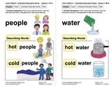 Understand Descriptive Words: Lesson 4, Book 8 (Newitt Pre