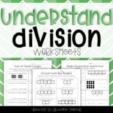 Understand Division Worksheets - Third Grade GoMath!