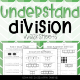 Understand Division Worksheets - Third Grade Go Math!