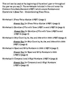 Understand Place Value 2.NBT.1