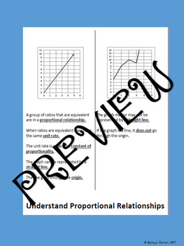 Understand Proportional Relationships